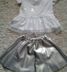 Одежда на девочку. Рост98-110