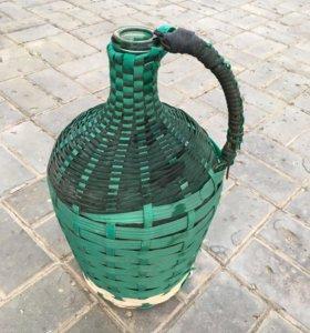 Бутыль старинная 9 литров