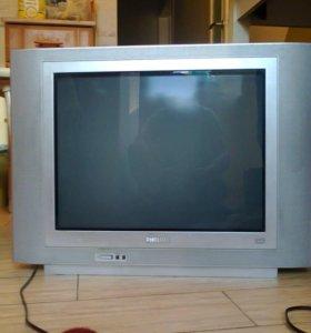 Телевизор кинескопный Филипс