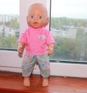 Кукла пупс Baby born 33 см Zapf Creation 2010г