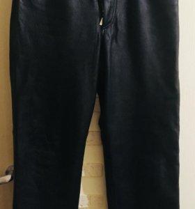 Кожаные штаны Hugo Boss