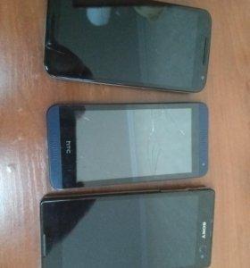 Moto X 2nd Gen HTC desire 610 Sony C3