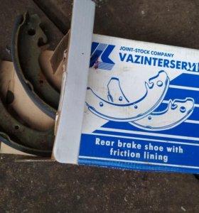 Тормозные колодки на ВАЗ 2108