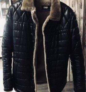 Кожаная зимняя куртка (мужская)
