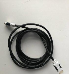 Новый провод hdmi 3 метра