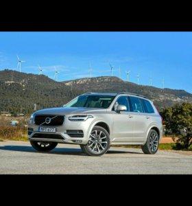 Пороги и обвес Volvo xc90