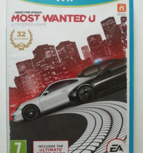 Игра Need for speed Most Wanted U (Wii U)