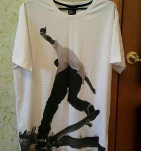 Длинная футболка мужская