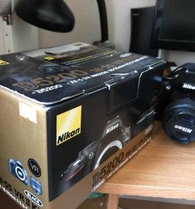 Продам фотоаппарат NIKON D5200