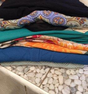 Топ, блузы, юбка, 42-44. Massimo, Zara, etam