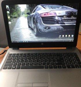 Ноутбук новый, HP 15-ba028ur