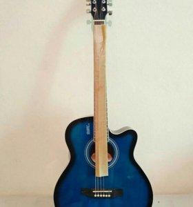Акустическая гитара новая