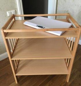 Пеленальный столик Angela Bella + весы Miniland
