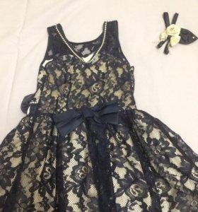 Платье на праздник 122-128