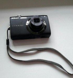 Фотоаппарат nikon coolpix s 3000