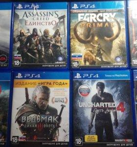 Игры для PlayStation 4, Ps4