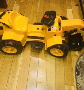 для детей «мальчика» трактор