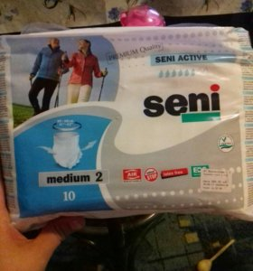 Подгузники-трусы Seni Active Medium (№2) 10 шт.