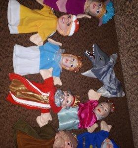 Куклы на руку