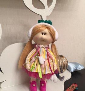 Кукла для интерьера. Игрушки для души