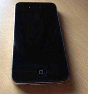 iPhone 4 s чёрный на 16 гб