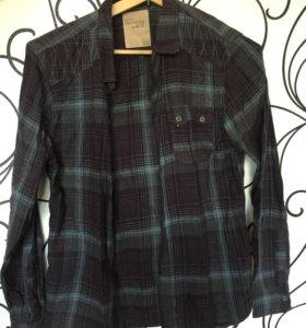 Рубашка мужская BERSHKA L 40
