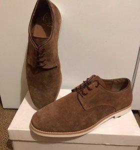 Туфли натуральная замша 44 размер