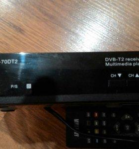 Приставка цифрового телевидения DVB-Т/T2 ЭЦТВ