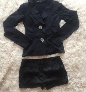 Пиджак и шортики