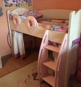 Детская кровать-домик « Принцесса»