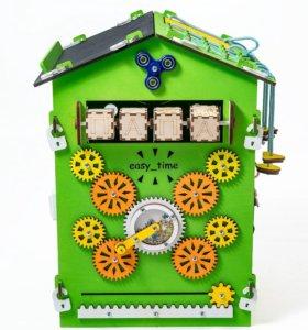 Бизиборд Зелёный 60х40х40 Бизидом
