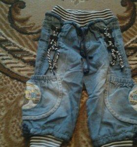 Продам модные летние джинсы 1-2 года