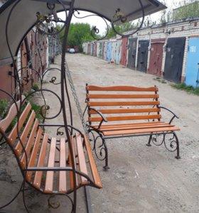 Холд-ой ковки Качели скамейки работаем под заказы