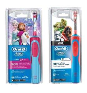 Электрическая зубная щётка Oral-B Power Kids(новая