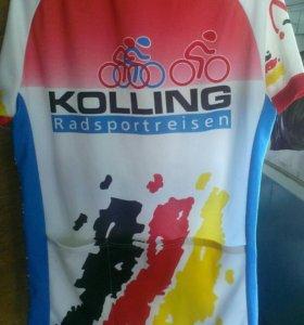 Велосипедно-гоночная фирменная футболка