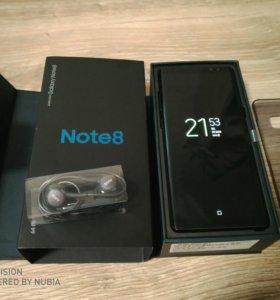 Samsung Galaxy Note 8 + Dex