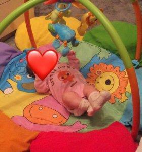 Музыкальный развивающий детский коврик