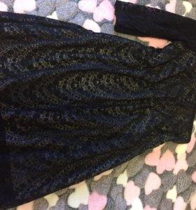 Платье б/у «бершка «
