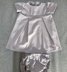 Платье на 7-9 мес