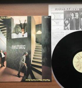 Manfred Man's Angel Station Rare japan press