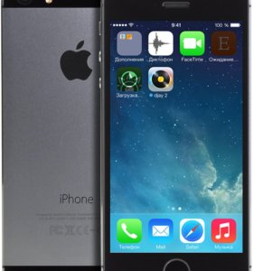 iPhone 5s space gray рст