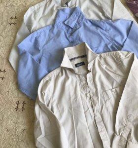 Рубашки лот 150-160 рост