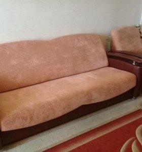 диван-книжка + кресло