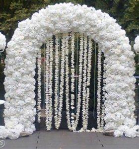 Арка свадебная 🌸 декор свадьба цветы оформление