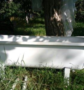 Ванна металлическая б/у
