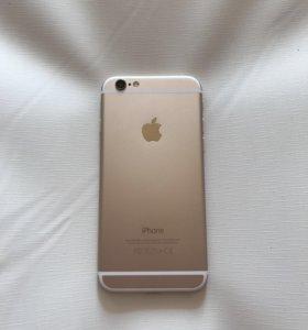 iPhone 6 64gb Золотой. Отличное состояние
