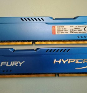 DDR3 Kingston Hyper X 8Gb (2*4)