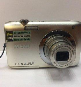Компактный фотоаппарат Nikon Coolpix S2600