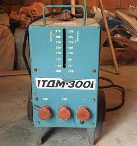 Трансформатор сварочный тдм-300 У2