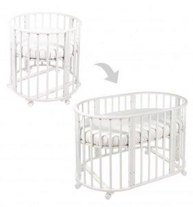Детская кроватка малютка 6 в 1